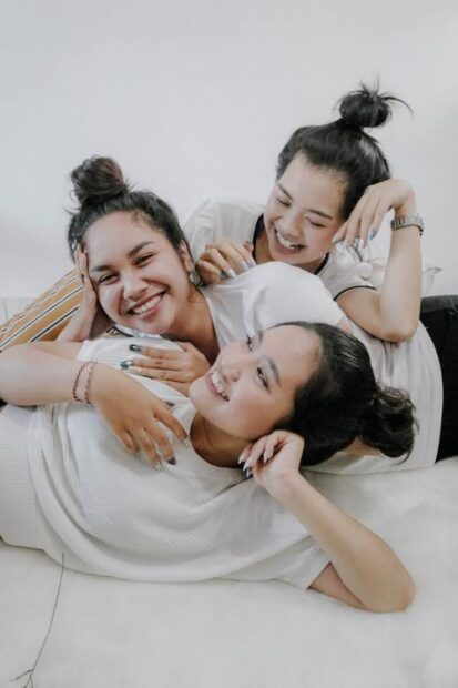 Att umgås med vänner är bra för hälsan